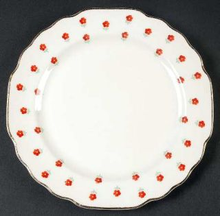 WS George Blushing Rose Bread & Butter Plate, Fine China Dinnerware   Lido,Small