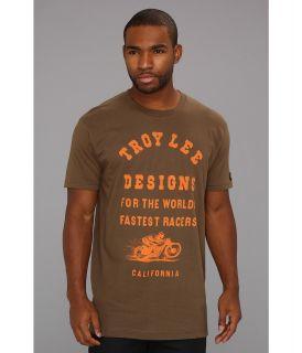 Troy Lee Designs Fastest Premium Fit Tee Mens T Shirt (Green)