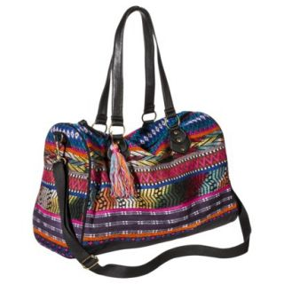 Mossimo Supply Co. Geometric Print Weekender Handbag with Removable Shoulder