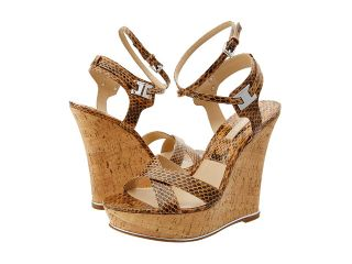 Michael Kors Collection Shana Womens Wedge Shoes (Beige)