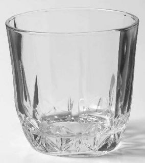 St George American Heritage Old Fashioned   Cut, Clear Bowl And Stem