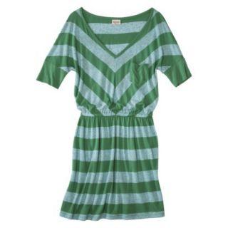 Mossimo Supply Co. Juniors V Neck Dress   Trinidad Green S(3 5)