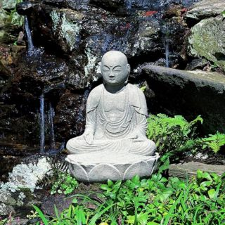 Campania International Seated Buddha Garden Statue   OR 27 GS