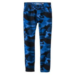 dENiZEN Boys 216 Skinny Jeans   Blue Camo 16