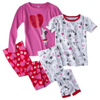 Just One You Made by Carters Infant Toddler Girls 4 Piece Short Sleeve and