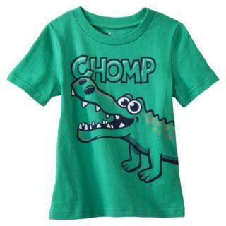 Circo Infant Toddler Boys Alligator Short Sleeve Tee   Green 18 M