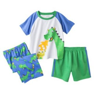 Just One You Made by Carters Infant Toddler Boys 3 Piece Dragon Pajama Set