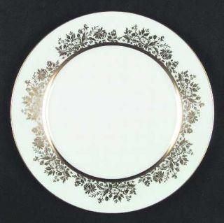 Oxford (Div of Lenox) Golden Dawn Dinner Plate, Fine China Dinnerware   Gold Flo