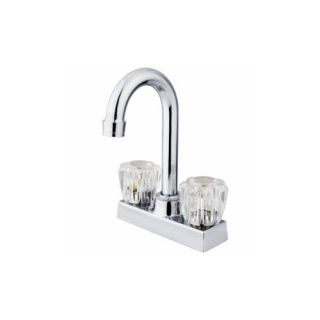 Elements of Design EB461SN Universal Centerset Bar Faucet With no Pop Up