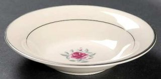Flintridge Delrose (Rim) Fruit/Dessert (Sauce) Bowl, Fine China Dinnerware   Pin