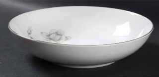 Queens Royal Queens Royal 9 Round Vegetable Bowl, Fine China Dinnerware   Gray