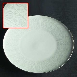 Heinrich   H&C Aria Bread & Butter Plate, Fine China Dinnerware   Gray Floral On