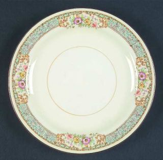 Homer Laughlin  Blue Dawn Dessert/Pie Plate, Fine China Dinnerware   Eggshell Na