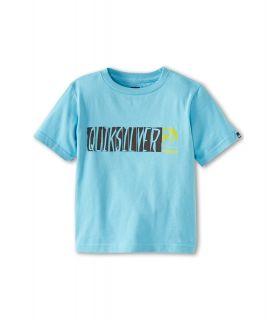 Quiksilver Kids Mental Case Tee Boys T Shirt (Green)