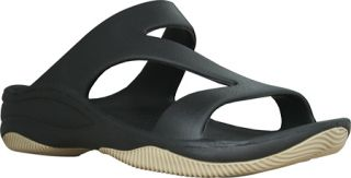 Womens Dawgs Z Sandal/Rubber Sole   Black/Tan Casual Shoes