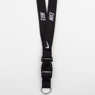 Lanyard Black One Size For Men 238202100