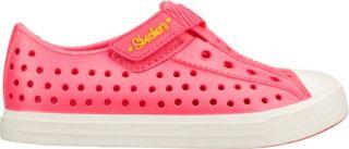 Infant/Toddler Girls Skechers Twist Ups Pitter Patter   Pink Vegetarian Shoes
