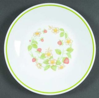 Corning Strawberry Sundae Bread & Butter Plate, Fine China Dinnerware   Corelle,