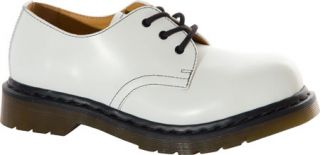 Dr. Martens 1925 5400 PW 3 Eye Steel Toe Shoe   White Smooth Casual Shoes