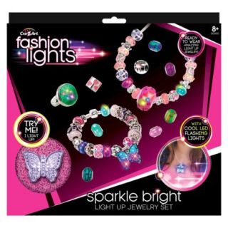 Cra Z Art Fashion Lights Sparkle Bright Jewelry Set