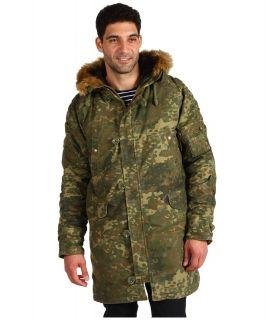 Alpha Industries Slim Fit N 3B Snorkel Mens Coat (Olive)