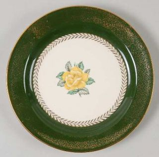 Homer Laughlin  Lady Greenbriar Bread & Butter Plate, Fine China Dinnerware   Na