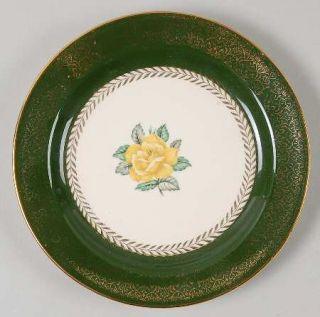 Homer Laughlin  Lady Greenbriar Bread & Butter Plate, Fine China Dinnerware   Na