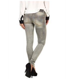 Buffalo David Bitton Jazz Low Rise Skinny Jean in Grey Worn Womens Jeans (Gray)