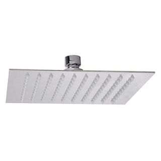 8 Modern Design Ultrathin Stainless Steel Square Shower Head