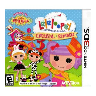 Nintendo 3DS Lalaloopsy Carnival Friends Video Game