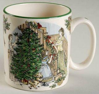 Spode World Of Christmas Carols Mug, Fine China Dinnerware   Annual Plates & Mug