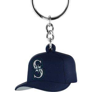 Seattle Mariners AMINCO INC. MLB Soft Rubber Cap Keychain