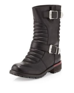 Tune Up Moto Boot, Black
