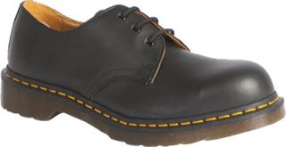 Dr. Martens 1925 5400 PW 3 Eye Steel Toe Shoe   Black Fine Haircell Casual Shoes